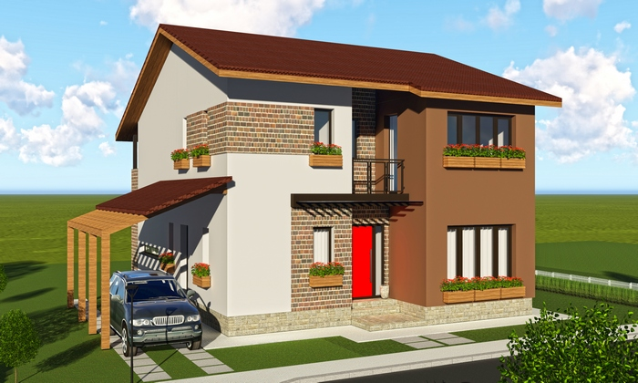 Proiecte case parter si etaj for Proiecte case parter