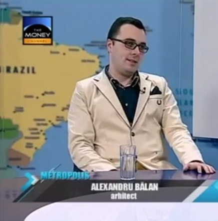 arh. Alexandru Balan la Metropolis - The Money Channel 17.02.2014