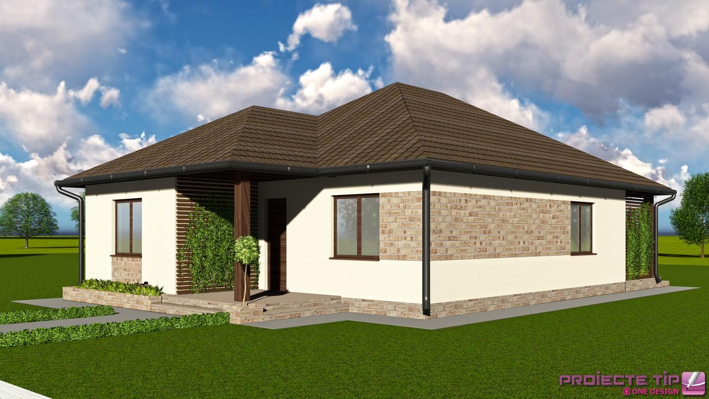 Proiect casa parter 134 mp ava for Case parter